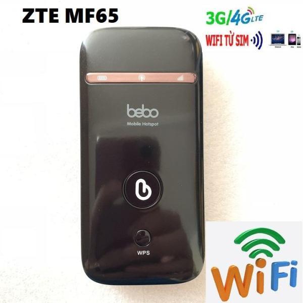 Bảng giá Bộ Phát Sóng Wifi 3G 4G MF65 Hàng Xách Tay Từ Nhật Cao Cấp - Bộ phát sóng wifi từ sim điện thoại Phong Vũ