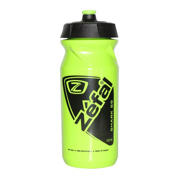 Bình nước thể thao đạp xe ZEFAL SHARK 650ml -- SPORTS WORLD SHOP chất liệu PP an toàn cho sức khỏe, 100% không chất BPA