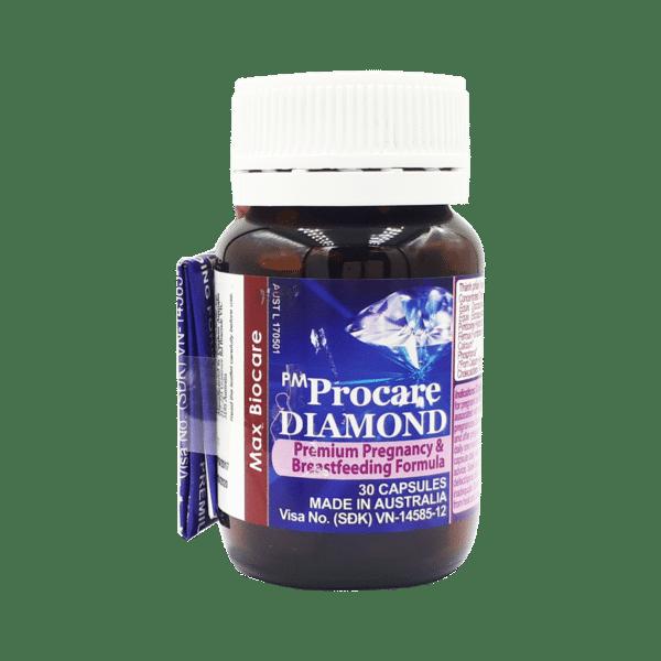 Pm procare diamond australia bổ bà bầu, chất lượng đảm bảo an toàn đến sức khỏe người sử dụng, cam kết hàng đúng mô tả