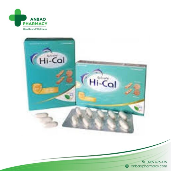 Avisure Hical Canxi Nano tự nhiên cho phụ nữ có thai