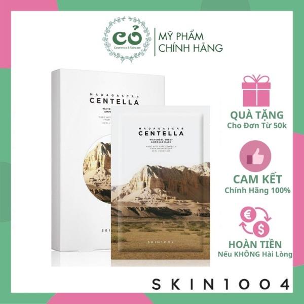 Mặt nạ giấy Skin1004 Madagascar Centella Watergel Sheet Ampoule Mask cam kết hàng đúng mô tả chất lượng đảm bảo an toàn đến sức khỏe người sử dụng
