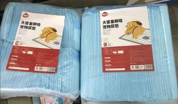 Miếng lót vệ sinh cho chó mèo bịch size M 45x60cm 50 miếng