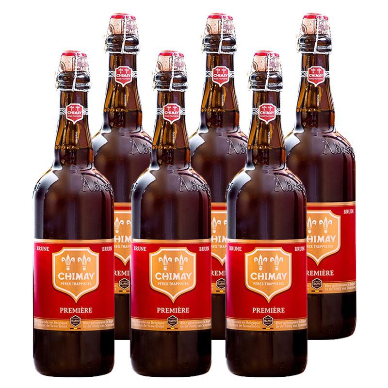 Coupon Khuyến Mãi Lốc 6 Chai Chimay Đỏ (Red Cap) Premier 7% (750mlx6)