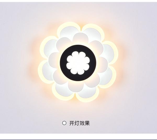 Đèn gắn tường trang trí chất liệu acrylic 3 chế độ sáng cao cấp LP0291 (3 Chế Độ Màu)