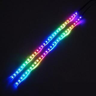 [Mã ELFLASH3 hoàn 10K xu đơn 20K] QUẠT LED CASE COOLMOON X2 TRONG SUỐT LED RGB 12CM thumbnail
