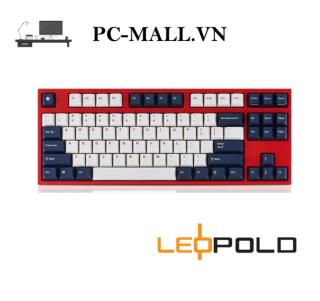Bàn phím cơ Leopold FC750R PD White Blue Star - HÀNG CHÍNH HÃNG - PCMALL.VN thumbnail