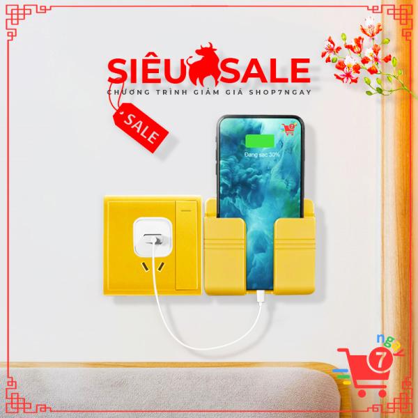 Giá Đỡ Điện Thoại Remote - giá để sạc điện thoại - Loại dán tường MỚI NHẤT