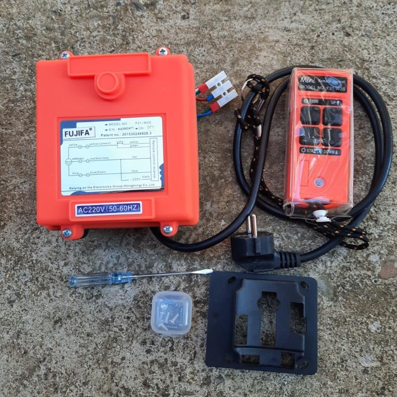 Điều khiển tời từ xa lắp cho tời chạy điện 1 PHA, chyên dùng cho tời PA, KCD