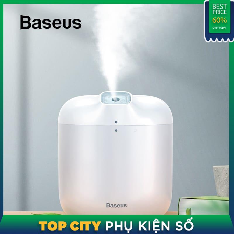 Máy phun sương tạo độ ẩm Baseus 600ml khuếch tán cho Văn Phòng Nhà Lớn Xịt Thông Minh Máy Tạo Độ Ẩm Không Khí có ĐÈN LED Đèn Ngủ