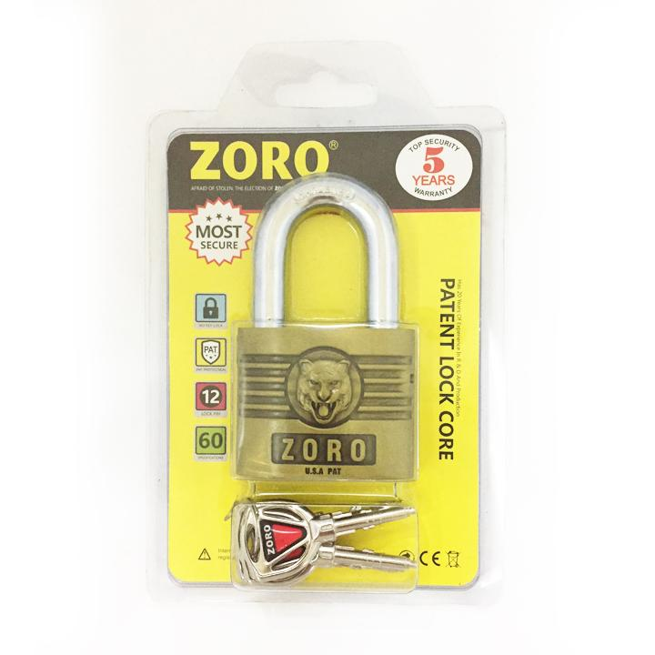 Ổ khóa Zoro 6 phân cao cấp by Aztek