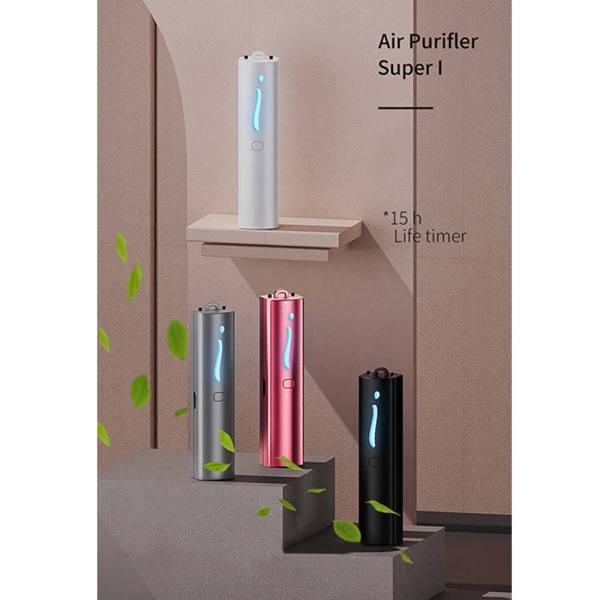 28 triệu Anion Máy lọc không khí đeo cá nhân đeo tay Mini Máy làm mát không khí di động Máy tạo ion âm
