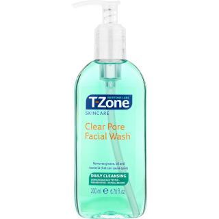 Sữa rửa mặt Trà xanh sạch nhờn mụn T-Zone Clear Pore Facial Wash 200ml thumbnail
