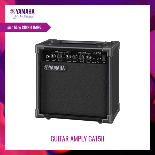 Amply Guitar Yamaha GA15II - Thiết kế gọn nhẹ, có 2 kênh Clean và Drive riêng biệt, hệ thống Loa Full Range 15W 16cm, 3 band EQ - Bảo hành chính hãng 12 tháng