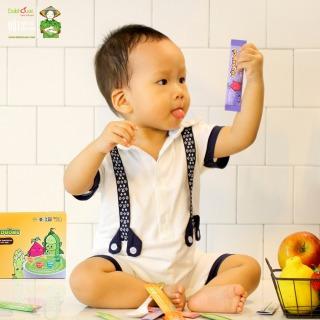 Bột rau dinh dưỡng cho bé Dalahouse - Hộp 21 gói 3gr với 7 vị - Cân bằng chế độ dinh dưỡng cho trẻ. Phù hợp cho bé từ 6 tháng đến 10 tuổi thumbnail