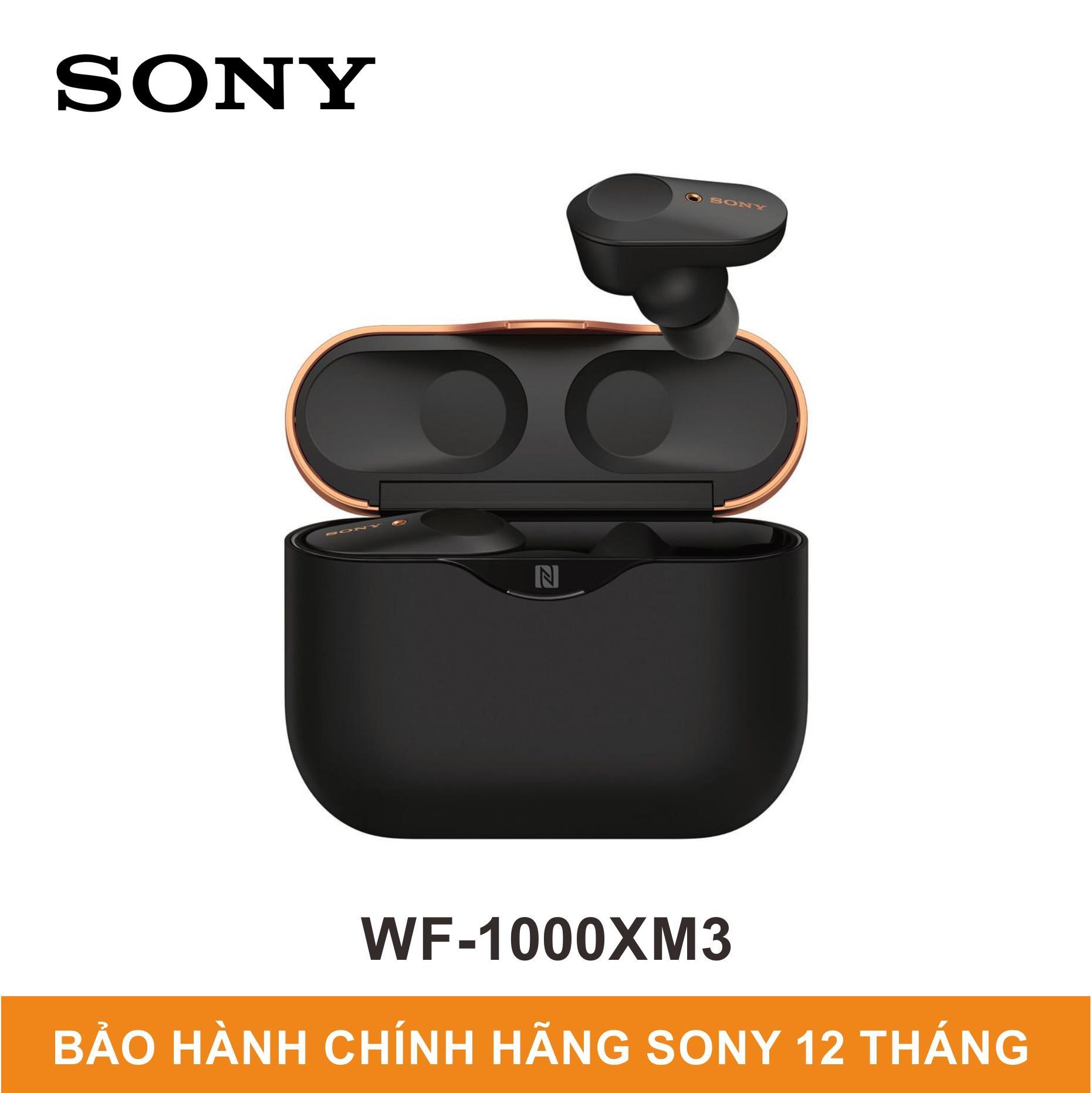 Tai Nghe Không Dây Có Công Nghệ Chống ồn Sony WF-1000XM3 - Hãng Phân Phối Chính Thức Bất Ngờ Ưu Đãi Giá