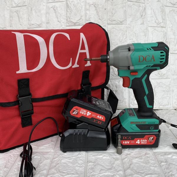 Máy Khoan Pin Chuyên Vít DCA [ FULL BOX + BH 6 Tháng ] - Tặng 2 Pin và 1 Sạc - Không chổi than