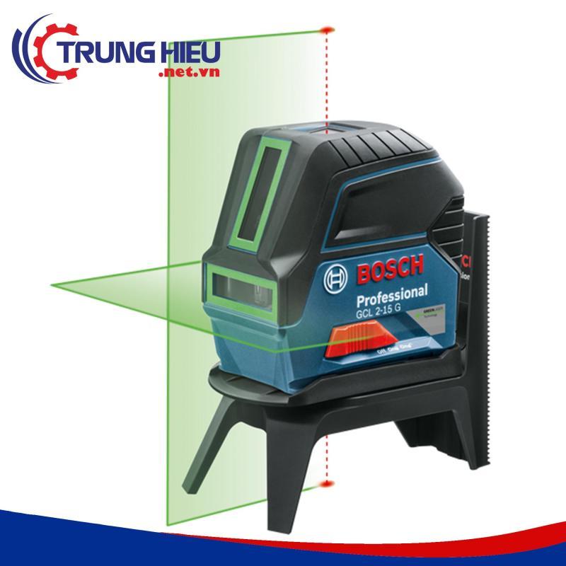 Máy cân mực Bosch GCL 2-15G tia xanh