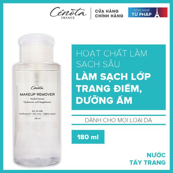 Nước tẩy trang Cénota Makeup Remover sạch sâu, dưỡng ẩm mềm mịn 300ml