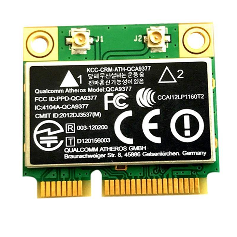 Giá QCA9377 Dual Band AC WIFI Module WIFI Adapter Mini PCI-E 2.4G/5G