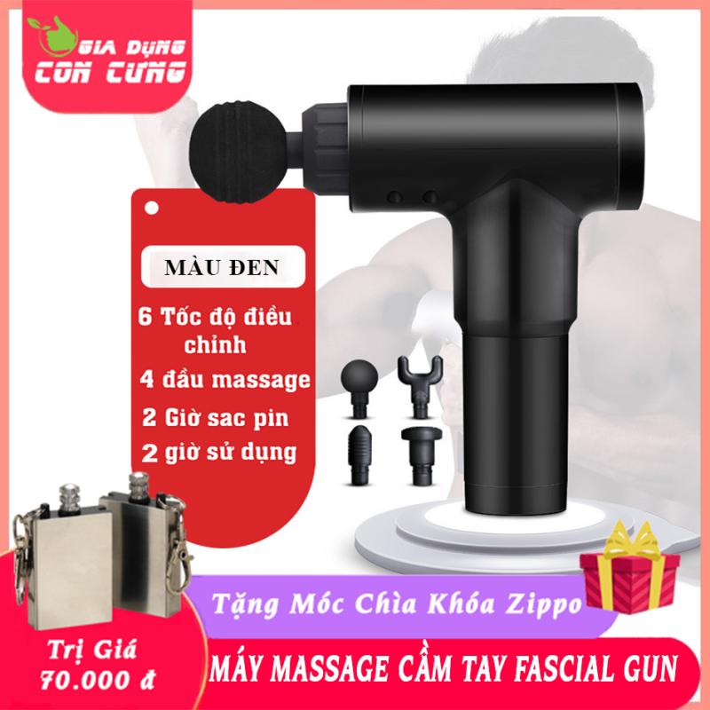 | Bảo hành 1 năm -Lỗi 1 đổi 1 | Máy massage cầm tay trị đau mỏi căng cơ Fascial Gun đa chức năng