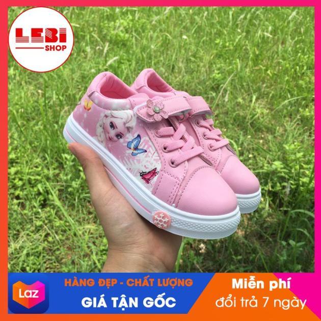 [HOT TREND 2020] Giày thể thao bé gái Giày elsa công chúa mềm nhẹ Giày cho bé- Lebi Store giá rẻ