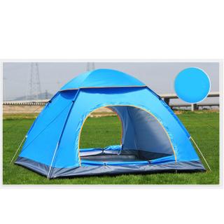 Lều Cắm Trại Lều Dã Ngoại Lều Ngủ Cắm Trại Đi Phượt 2-3 Người, Chống Mưa - Chống Nắng, 2 Lớp Bền Bỉ Kích Thước( 1.5m x 2m )Dễ Dàng Gấp Gọn Tiện Lợi. ( BẢO HÀNH LỖI 1 ĐỔI 1 ) thumbnail