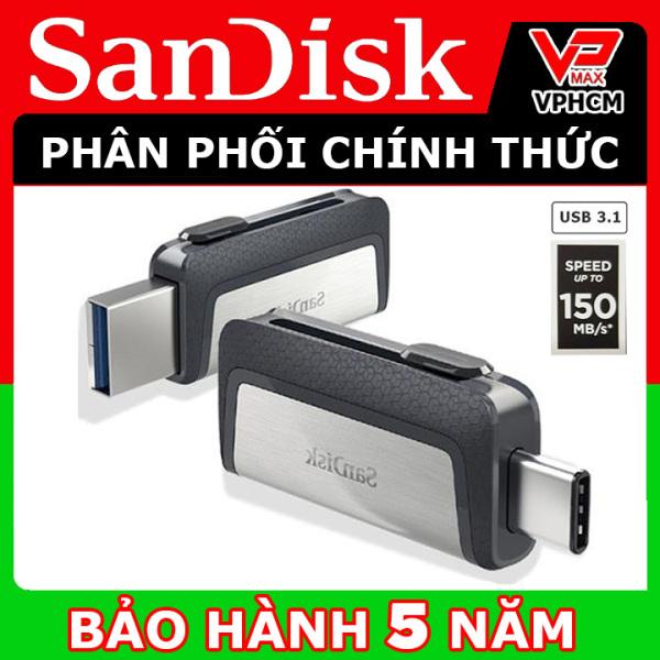 Bảng giá USB OTG Sandisk Ultra Dual Type-C 3.1 32GB 64GB tốc độ cao 150MB/s hãng SPC phân phối - vpmax Phong Vũ