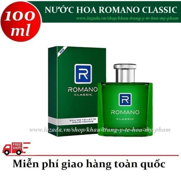 Romano - Nước hoa cao cấp hương Classic 100 ml