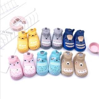[Lấy mã giảm thêm 30%]Giày tập đi đế da tất len cho bé chống trơn trượt mặt dưới dày có thiết kế chống trượt an toàn cho bé khi tập đi thumbnail