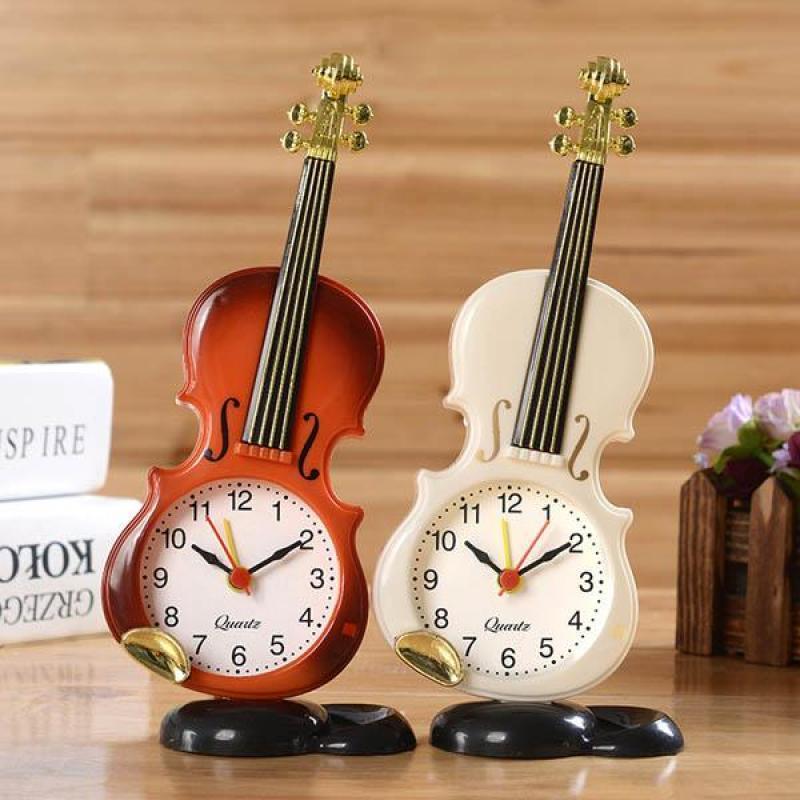 Nơi bán Đồng hồ báo thức hình cây đàn violin(Hàng loại tốt)