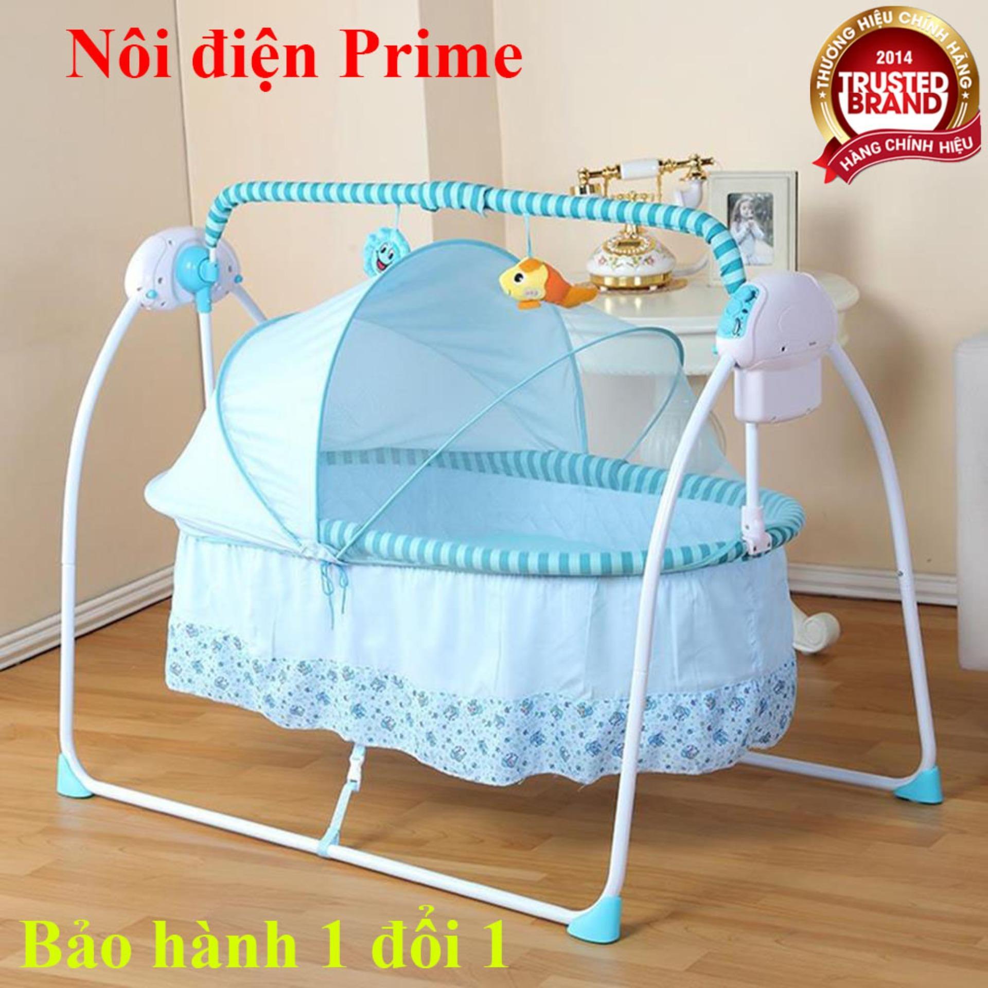 Nôi điện em bé Primi, nôi em bé tự động...