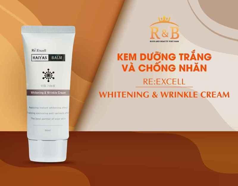 Kem_dưỡng_trắng và #chống_nhăn Whitening & WrinKle Cream