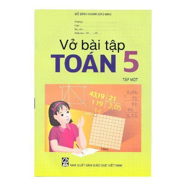 Mua Vở Bài Tập Toán Lớp 5 - Tập 1+2 - 9786040135896