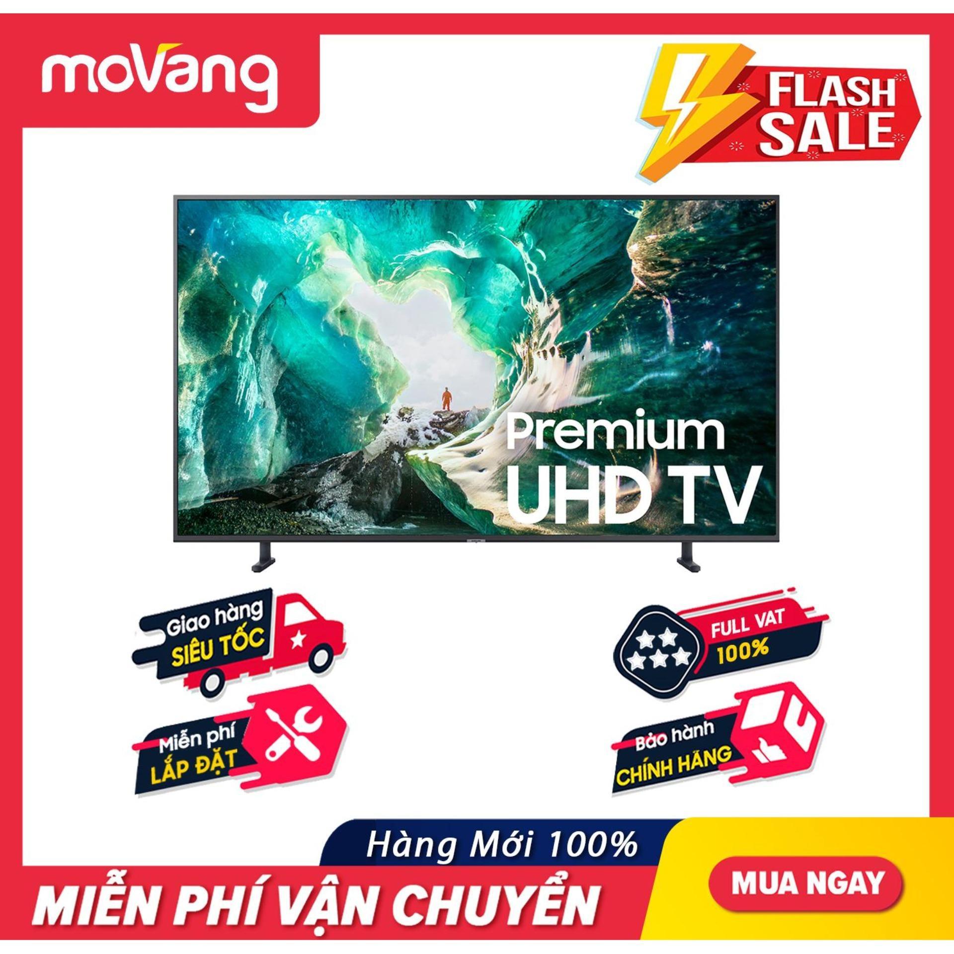 Bảng giá Smart Tivi Samsung 4K UHD 55 inch - Model UA55RU8000 (2019) - Công nghệ hình ảnh HDR, UHD Dimming, Purcolour + Điều khiển giọng nói