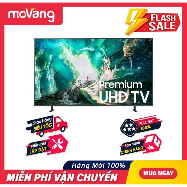 Bảng giá Smart Tivi Samsung 4K UHD 49 inch - Model UA49RU8000 (2019) - Công nghệ hình ảnh HDR, UHD Dimming, Purcolour + Điều khiển giọng nói