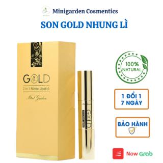 Son Lì Gold 2 in 1 Matte Lipstick Thiết Kế Hai Đầu Độc Đáo PV997 thumbnail