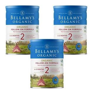 3 lon Sữa Bellamy s Organic công thức số 2 (bé từ 6-12 tháng) - 900gram thumbnail