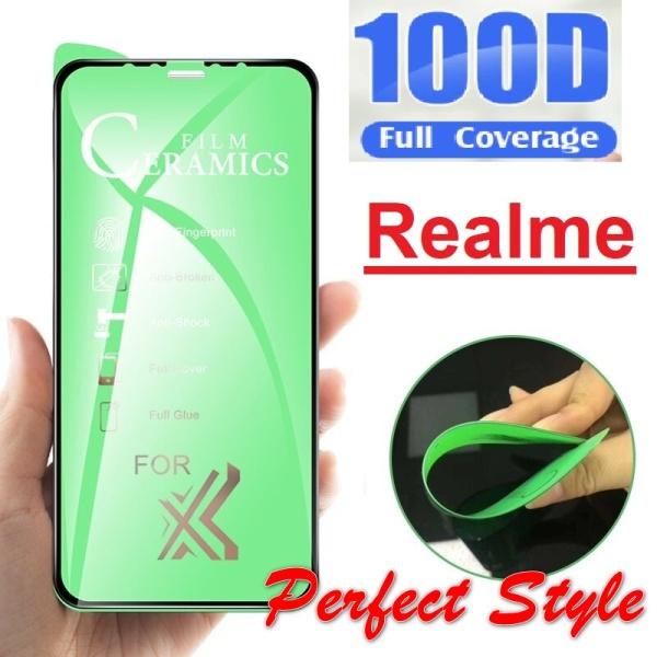 Cường lực dẻo 100d Realme 5 5i 6i Q 5 pro X lite / c1 c11 c12 x2 x2 pro 6 pro GT Neo Q3 pro C12 C20 C25 Q3 Realme 8 Pro