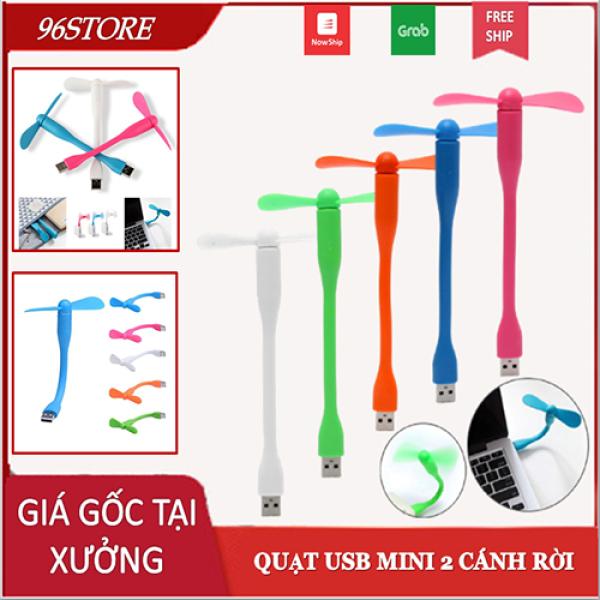 Bảng giá Quạt Mini Đầu Cắm USB Đa Năng Cho Laptop, Sạc Dự Phòng, Bình Phun Sương Có thể Uốn Cong Phong Vũ