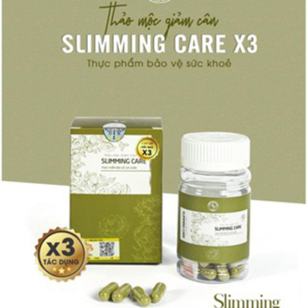 [Cam kết 100% chính hãng] Viên thảo mộc giảm cân Slimming Care Hộp 30 viên