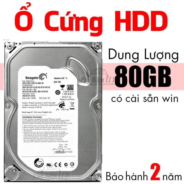 Bảng giá Ổ cứng HDD máy tính bàn Seagate 80GB Bảo Hành 2 Năm Phong Vũ