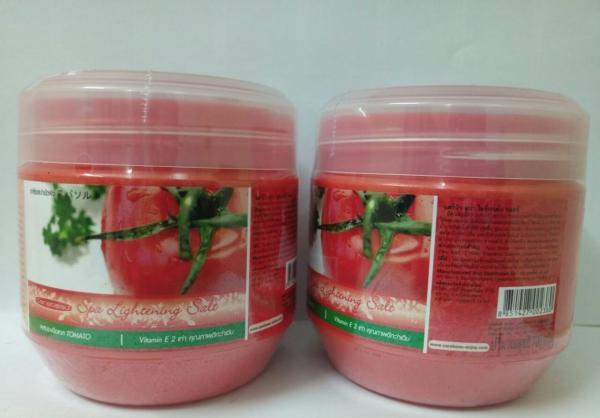 Muối tắm trắng Spa Lightening Salt 700gram Thái Lan- Cà chua giá rẻ