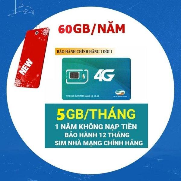 C Sim 4G Viettel D500 Trọn Gói 1 Năm, Mỗi Tháng có 5GB DATA tốc độ cao, Không Cần Nạp Tiền Hàng Tháng