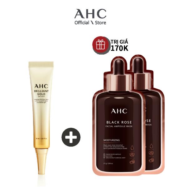 Kem Mắt Tinh Chất Vàng AHC Brilliant Gold Eye Cream 30ml giá rẻ