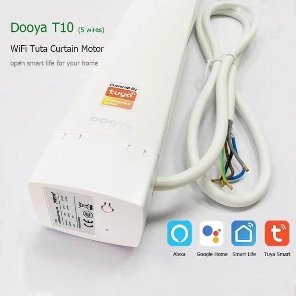 Giá [ 36 tháng BH ] Động cơ rèm wifi Tuya, Smartlife, Motor Dooya T10 hoặc ODM