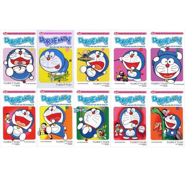 Sách - Combo Doraemon ngắn - 10 quyển (từ tập 11 đến tập 20)