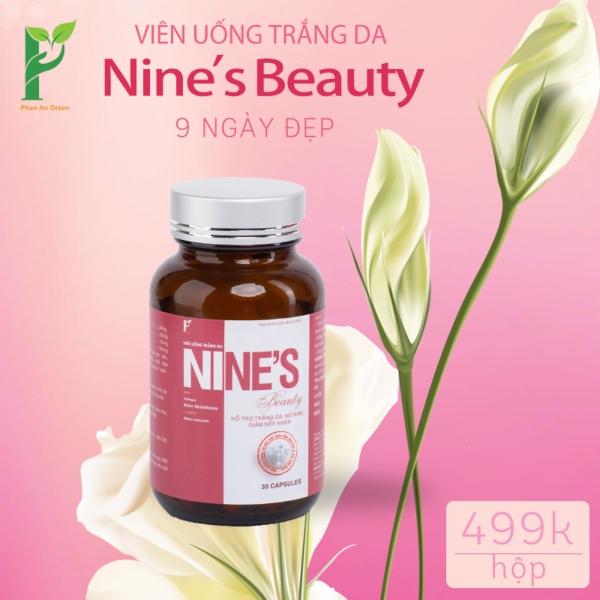(CHÍNH HÃNG) Nines Beauty làm trắng da, mờ nám, giảm nếp nhăn giá rẻ