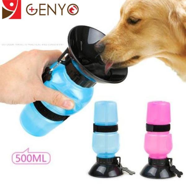 Bình nước cho chó mèo - Bình nước thông minh cho chó mèo - Binh nước 001 Xanh