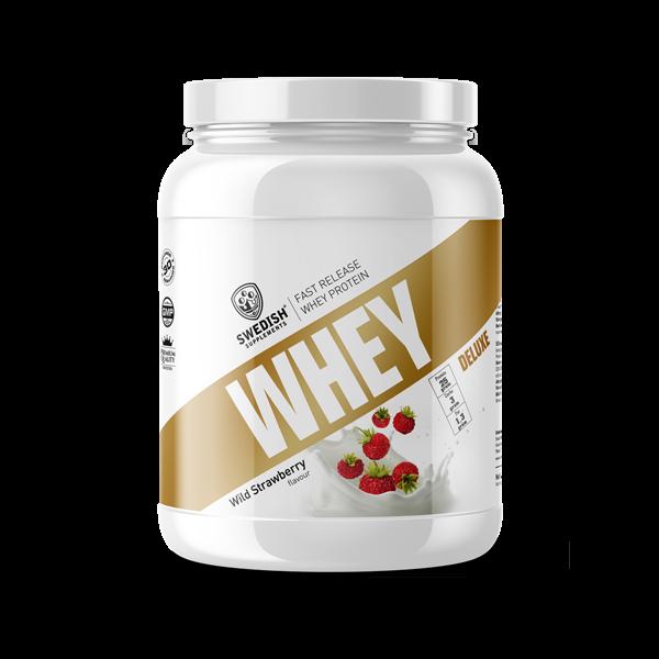 Whey Protein Deluxe 1kg - Bất bại về mùi vị (Swedish Supplements) nhập khẩu