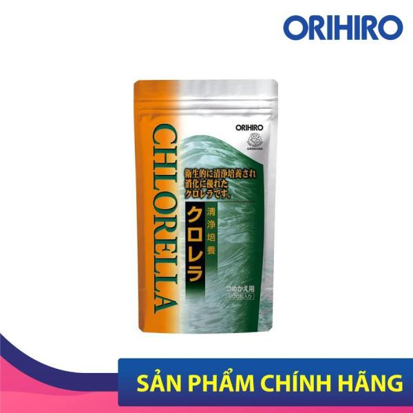 Viên Uống Tảo Lục Chlorella Orihiro 900 Viên/Túi Phòng Ngừa, Hỗ Trợ Điều Trị Các Bệnh Tim Mạch Hiệu Quả, Bổ Sung Vitamin, Khoáng Chất
